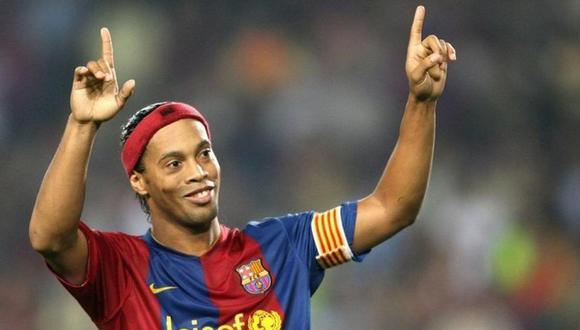 Ronaldinho considerado mejor que Leo Messi por ex jugador argentino. (Foto: EFE)