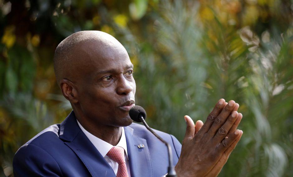 Jovenel Moise dijo en una conferencia de prensa sorpresiva que fue elegido constitucionalmente y que dejaría el poder sólo a través de un proceso legal, como elecciones. (Reuters)