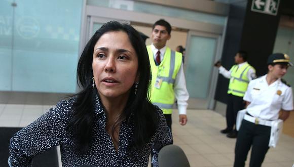 Nadine Heredia presentó un recurso de tutela de derechos por el caso Gasoducto Sur Peruano. (Foto: Andina)