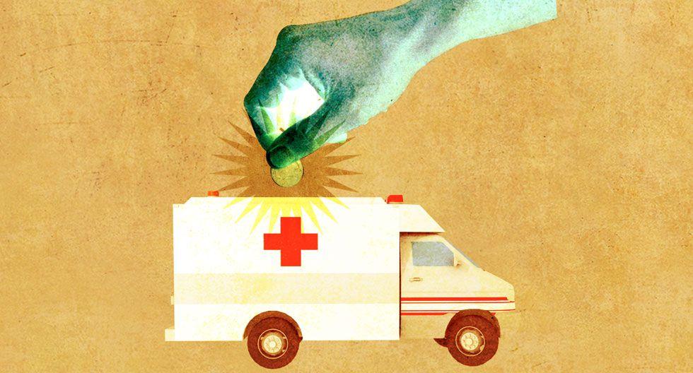 El tema de la prevención y la promoción de la salud ha brillado por su ausencia, destaca el Dr. Elmer Huerta. (Diseño: Raúl Rodríguez)
