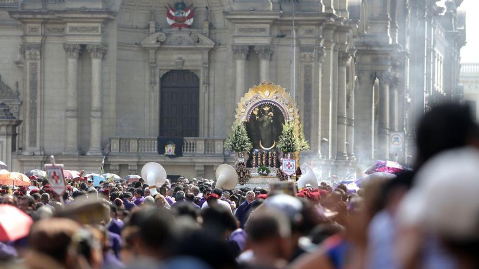 Semana Santa: la procesión del Señor de los Milagros [FOTOS] - 1