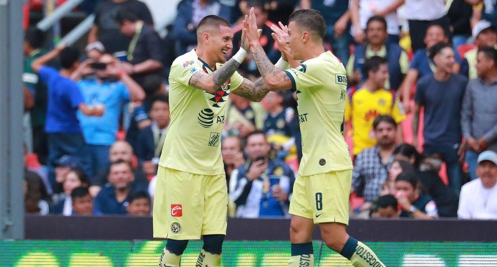 América, con doblete de Nicolás Castillo, venció 4-2 a Moterrey por la Liga MX | Foto: Agencias