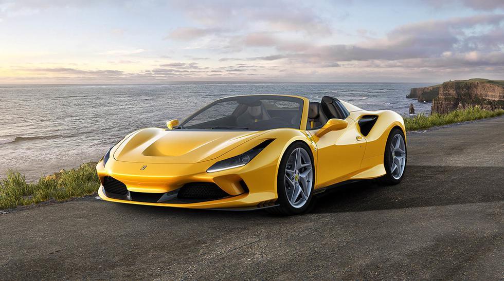 El Ferrari F8 Spider se ha convertido en el V8 de Ferrari más potente de la historia. (Fotos: Ferrari).