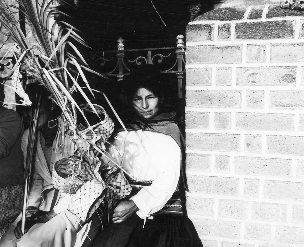 En abril de 1965 nuestro reportero gráfico Alberto del Rosario documentó cómo se desarrollaba la Semana Santa en Ayacucho. Foto: Alberto del Rosario/ GEC Archivo Histórico