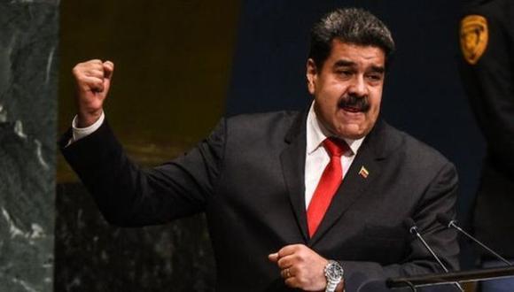 En su discurso en la ONU, Nicolás Maduro denunció una conspiración en su contra.