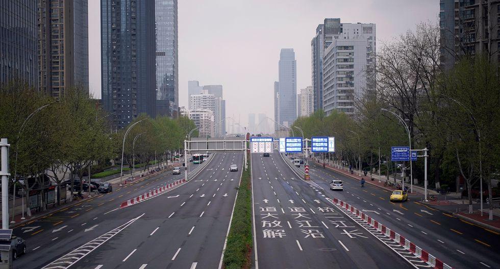 Una imagen de la ciudad china de Wuhan, donde se inició la pandemia de coronavirus, del pasado 31 de marzo. (REUTERS/Aly Song).