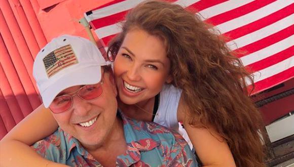 Sorprenden a Thalía y Tomy Mottola días antes de su aniversario (Instagram)