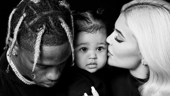 Kylie Jenner y Travis Scott tuvieron a Stormi tras tener solo unos cuantos meses de relación (Foto: Instagram)