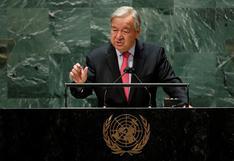 """António Guterres, secretario general de la ONU: """"El mundo nunca ha estado tan amenazado"""""""