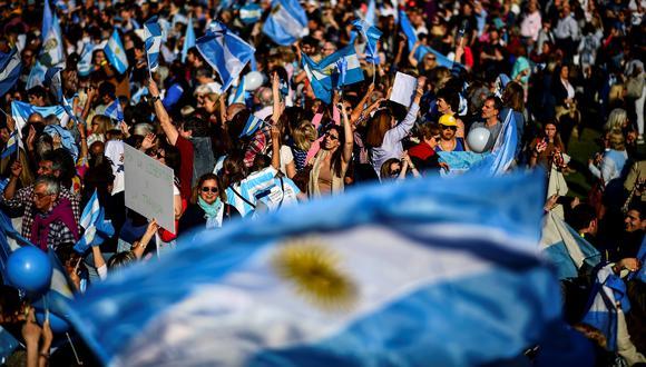 Este es el precio de la moneda estadounidense en Argentina. (Foto: AFP)