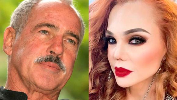 El actor se animó a hablar de su romance con la modelo, de quien dijo guarda los mejores recuerdos. (Foto: Andrés García y Carmen Campuzano / Instagram)