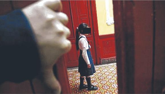 En todo 2019 se reportaron 161 denuncias por violación a menores de edad en Piura. (Foto: referencial)