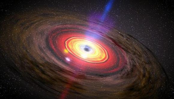 Este objeto sería un agujero negro primordial. (Foto: NASA)