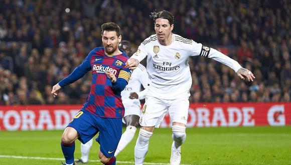 Barcelona y Real Madrid lucha por el primer lugar de LaLiga Santander