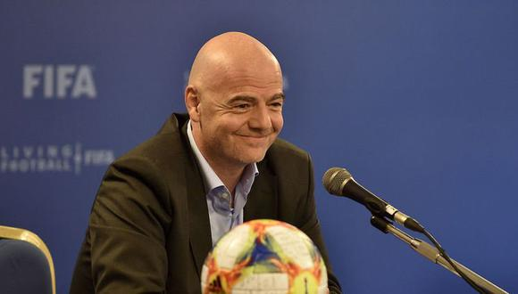 Gianni Infantino, presidente de la FIFA. (Foto: AP)