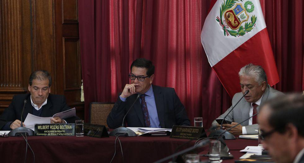 Las bancadas del Frente Amplio y de APP suspendieron su participación en la Comisión de Ética, que es dirigida por el fujimorista Juan Carlos González. (Foto: Archivo El Comercio)