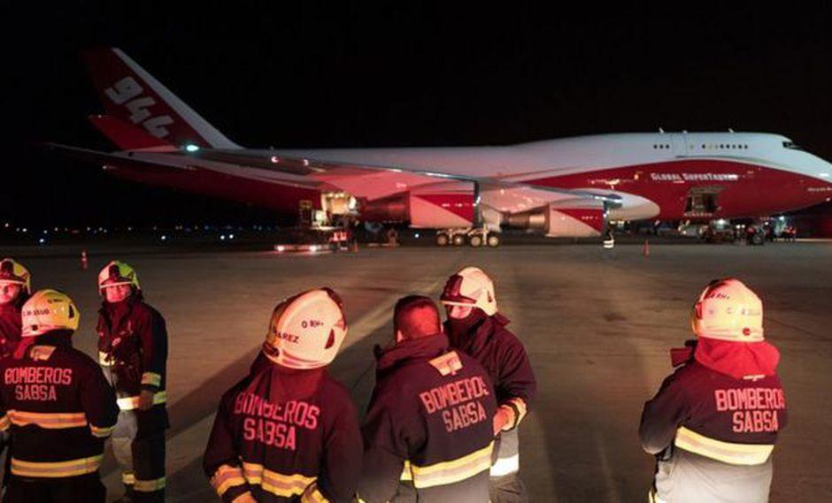 El supertanquero llegó a Bolivia el viernes a la madrugada.(Foto: GETTY IMAGES, vía BBC Mundo).