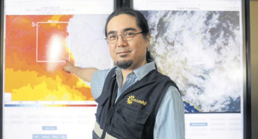 El doctor Ken Takahashi ha participado en un estudio internacional para analizar si el clima influye en los contagios. (Foto: Juan Ponce)