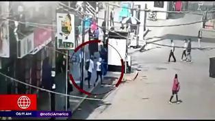 Comerciantes de Gamarra realizan colecta para ayudar a familiares de extranjera asesinada