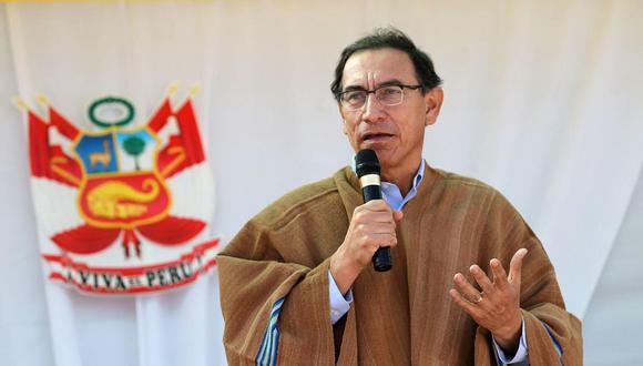 Presidente Vizcarra señaló que espera que esta situación por el proyecto Tía María se supere. (Foto: Andina)