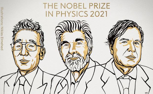 Il Premio Nobel per la Fisica 2021 (Foto: Premio Nobel)