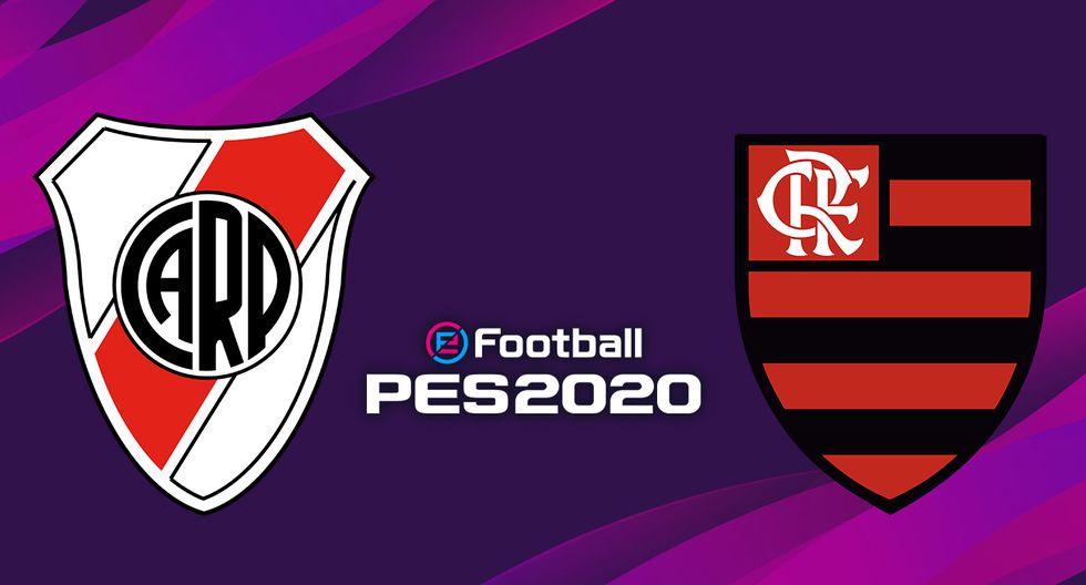 River vs. Flamengo, final de la Copa Libertadores 2019. (PES 2020)