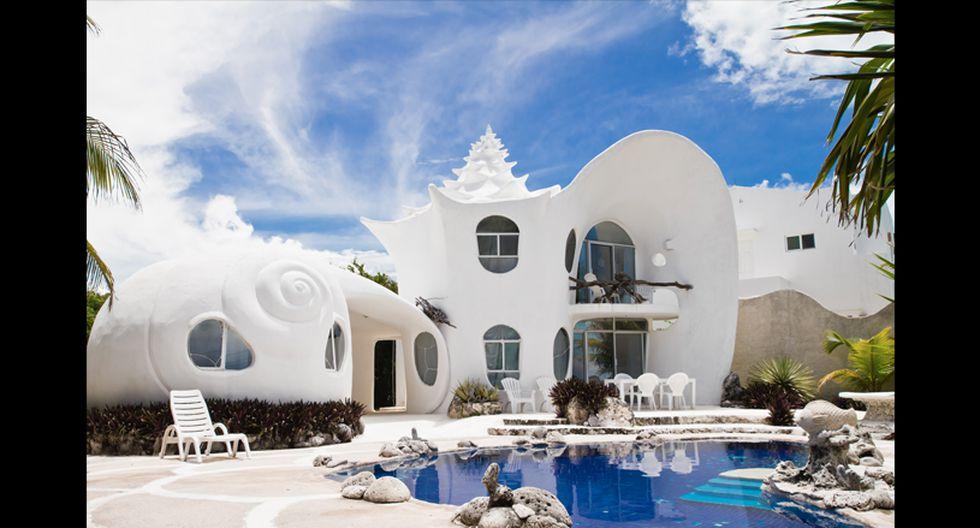 2013: La Famosa Casa Caracol - Isla Mujeres, México. (Foto: Difusión)