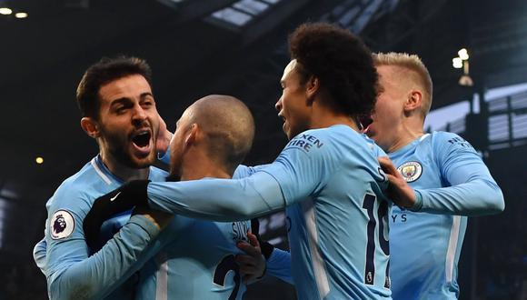 Manchester City derrotó al Chelsea con gol del portugués Bernardo Silva. (Foto: AFP)