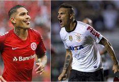 Paolo Guerrero en el once ideal de la década de Internacional y Corinthians, según medio brasileño