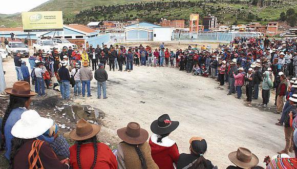 Apurímac: no hay paro pero sigue la tensión en Challhuahuacho