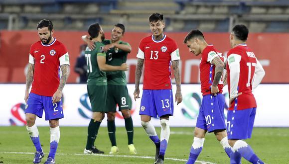 Chile sumó su segundo empate bajo la conducción del técnico Martín Lasarte (Foto: AFP)