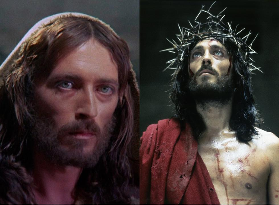 "Era la miniserie de televisión ""Jesús de Nazaret"", de Franco Zeffirelli, el actor Robert Powel interpretó a Cristo."