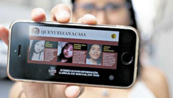 El Comercio publica diariamente en su web casos de menores desaparecidos reportados por la PNP. (Foto: Hugo Pérez)