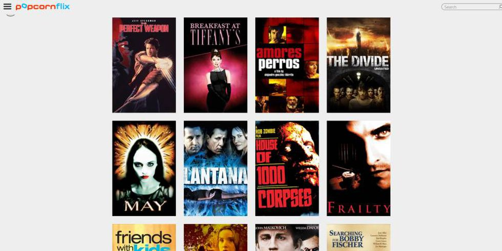 2. Popcornflix es un servicio gratuito en ascenso que busca competir con Netflix (Foto: Popcornflix)