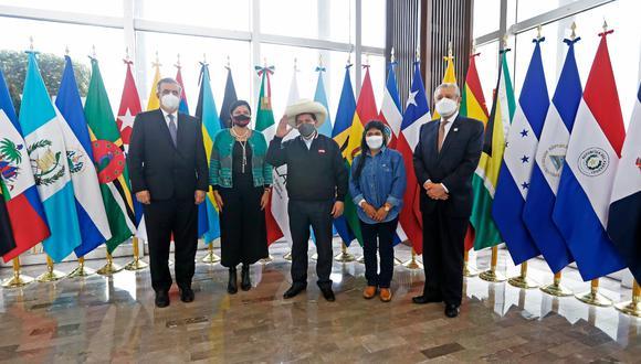 El jefe de Estado inició su primera agenda de trabajo internacional por México y Estados Unidos, en el marco de una gira que se extenderá hasta el 22 de setiembre. (Foto: El Comercio)