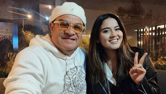 Tony Vega ya se encuentra en Lima para grabar un tema al lado de Amy Gutiérrez. (Foto: @musicnesoficial)
