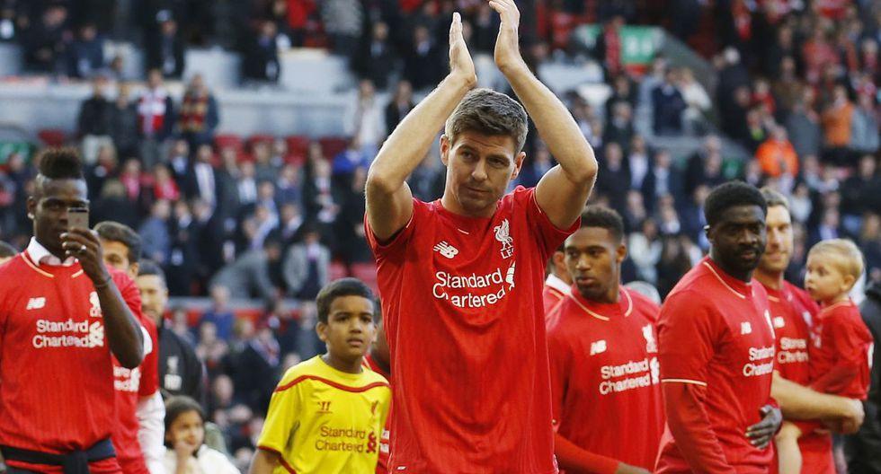 Steven Gerrard y su emotiva despedida del Anfield Road (FOTOS) - 1