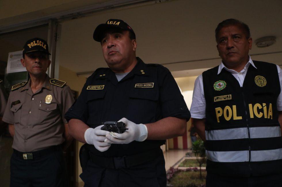 La policía detuvo a cinco delincuentes que se enfrentaron a balazos con agentes de Inteligencia este viernes en El Porvenir, Trujillo (Foto: Johnny Aurazo).