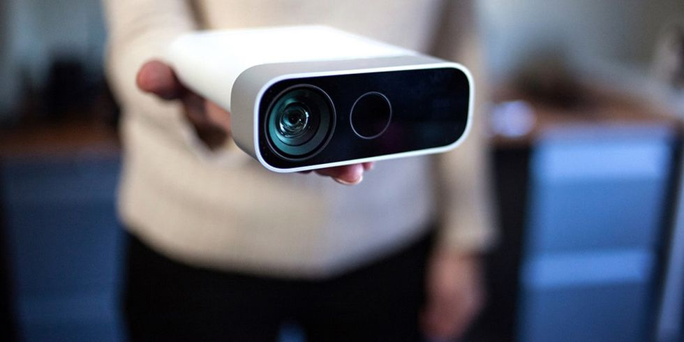 El Azure Kinect se impulsará gracias a la inteligencia artificial de Azure. (Difusión)