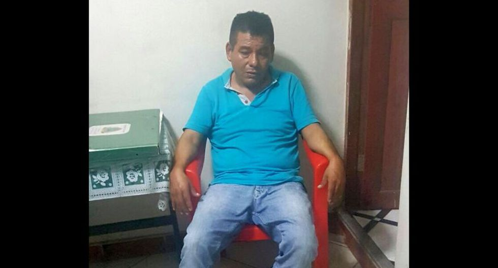 Uno de los detenidos por el presunto delito de Tráfico Ilícito de Drogas – TID en Loreto. (Foto: Cortesía)
