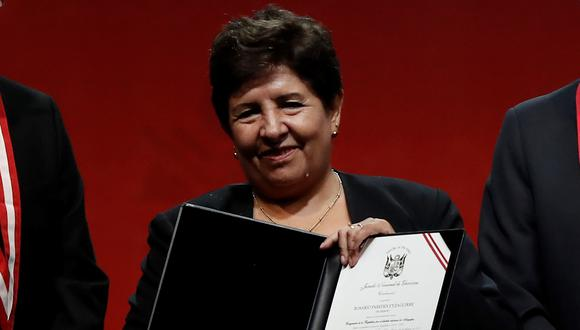 La congresista Rosario Paredes es investigada en la Fiscalía de la Nación por el presunto delito de concusión tras denuncia de extrabajadora de su despacho por recortes de sueldo. (Foto: GEC)