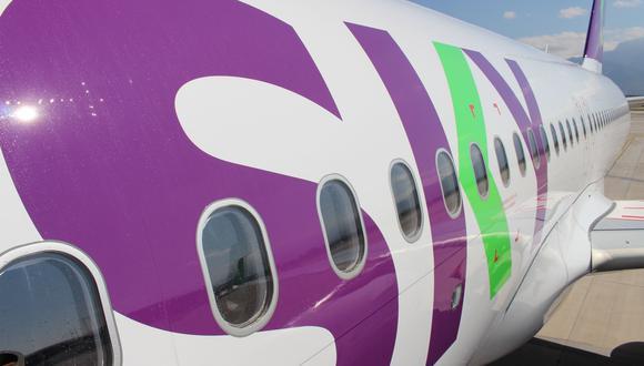 La aerolínea Sky registra a la fecha más de 236,000 asientos vendidos. (Foto: GEC)