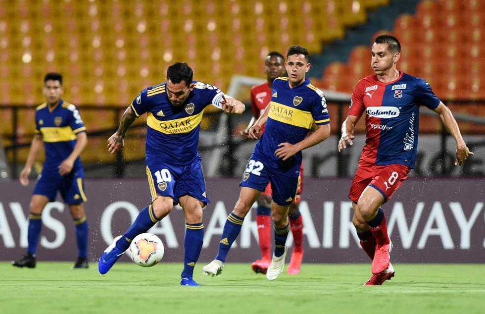 Boca Juniors enfrentó al DIM por la Copa Libertadores
