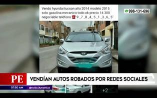 Independencia: capturan a sujeto que vendía autos robados a través de las redes sociales