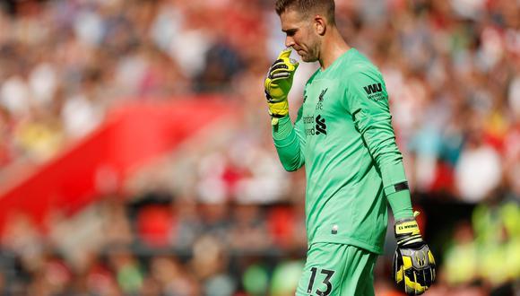 Liverpool vs. Southampton: Adrián y el blooper que le dio el descuento a los 'santos' | Foto: Reuters