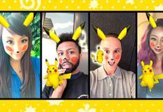 Snapchat se une a fiebre de Pokémon añadiendo filtros de Pikachu