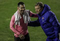 Ronald Koeman: la hora más urgente del técnico de un Barcelona en tiempo de elecciones