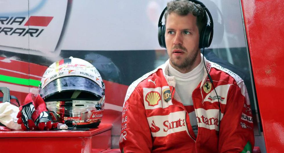 Sebastian Vettel lleva 17 carreras consecutivas sin ganar en la Fórmula 1. (Foto: AFP)