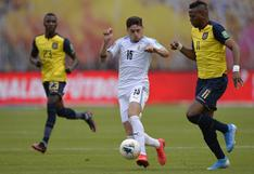 Ecuador venció 4-2 a Uruguay en Quito por Eliminatorias Qatar 2022