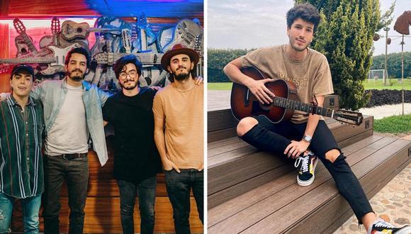 Los colombianos Sebastián Yatra y Morat estrenarán videoclip el jueves 21 de mayo en YouTube. (@morat / @sebastianyatra).